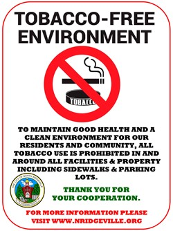 City of North Ridgeville Is Going Tobacco-Free