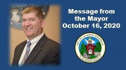 Message from the Mayor October 16, 2020