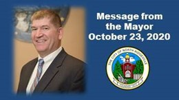 Message from the Mayor October 23, 2020