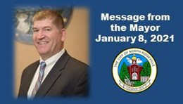Message from the Mayor January 8, 2021