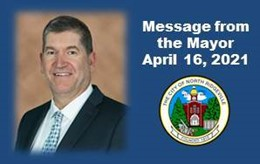 Message from the Mayor April 16, 2021