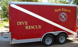 Dive Rescue Trailer